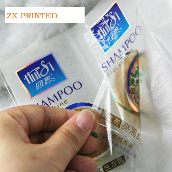 Clear Vinyl Stickers Printing Waterproof Vinyl Sticker