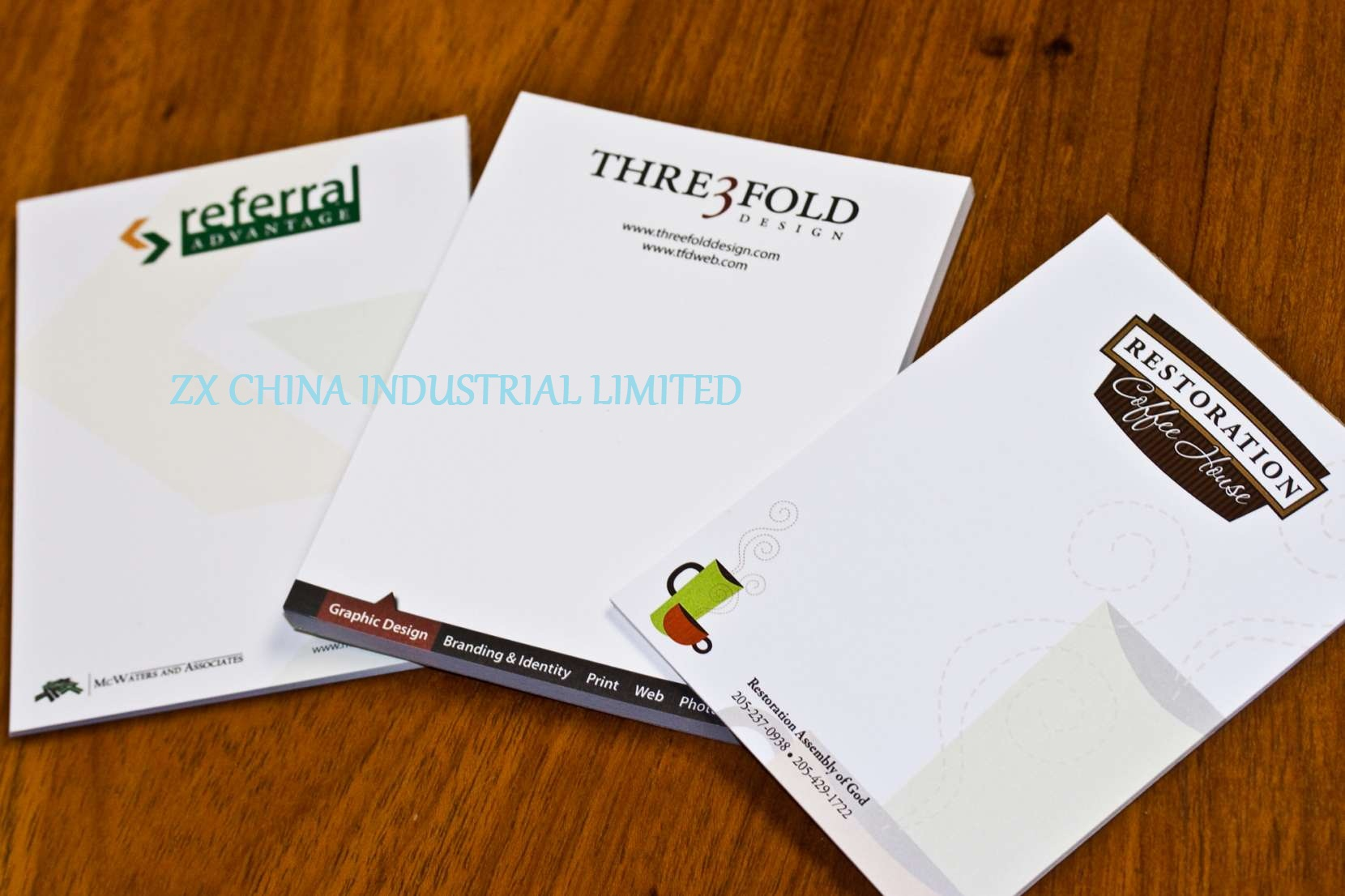 custom notepads printing full color notepads printing